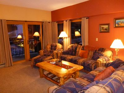 Photo for March Madness New Rates ! Snow! Best location in Breckenridge Easy Stroll 2 town