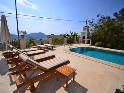 Photo for Three bedroom Villa with Private Pool and Good Sea Views at a Reasonable Price.