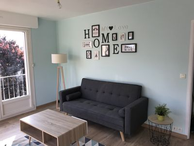 Photo for Chic T3 NEW quiet close to downtown and beaches