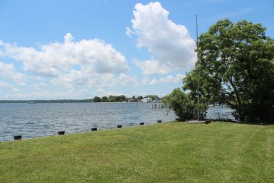 Looking Southwest at the tip of Solomons Island
