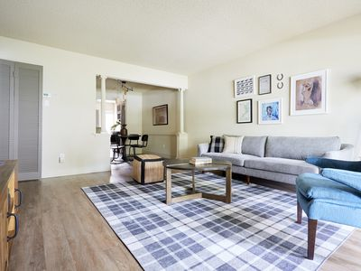 Photo for Sonder | 2306 Marquee Uptown | Lively 2BR + Pool