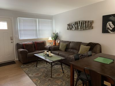 Photo for Clean, Convenient & Completely Private Eastside Apt, close to Skyline Med. Ctr.