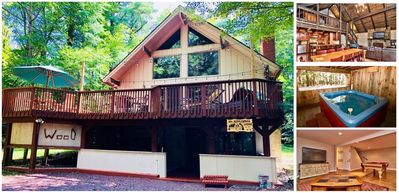 Photo for Stream Side Mountain Lodge & Hot Tub, near EVERYTHING - Family & Pet Friendly!