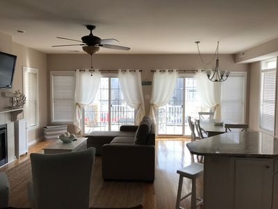 Photo for New Rental on Asbury! Renovated 3BR/2BA condo close to Shops & Boardwalk