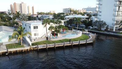 Photo for Affinity Riverside Five - Big Pool, Dock, Views, Walk To Beach