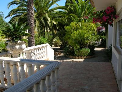 Photo for Charming 4 Bedroom villa, central but quiet, all on one floor with