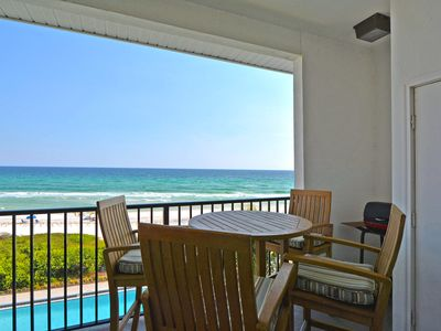 Photo for HUGE WEEKLY SAVINGS Beach front, Private Beach Walk