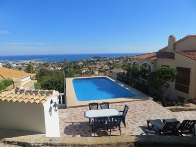Photo for Villa with private pool panoramic views