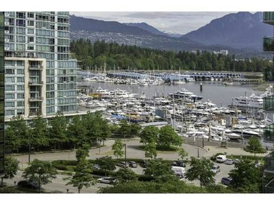 Photo for Fully furnished Spacious suite with water and mountain views in Coal Harbour