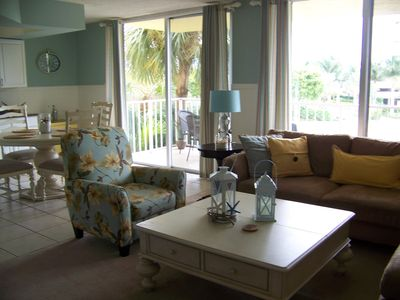 Photo for Gorgeous Condo and Ideal Vacation! Steps to Beach! Great couples get-away