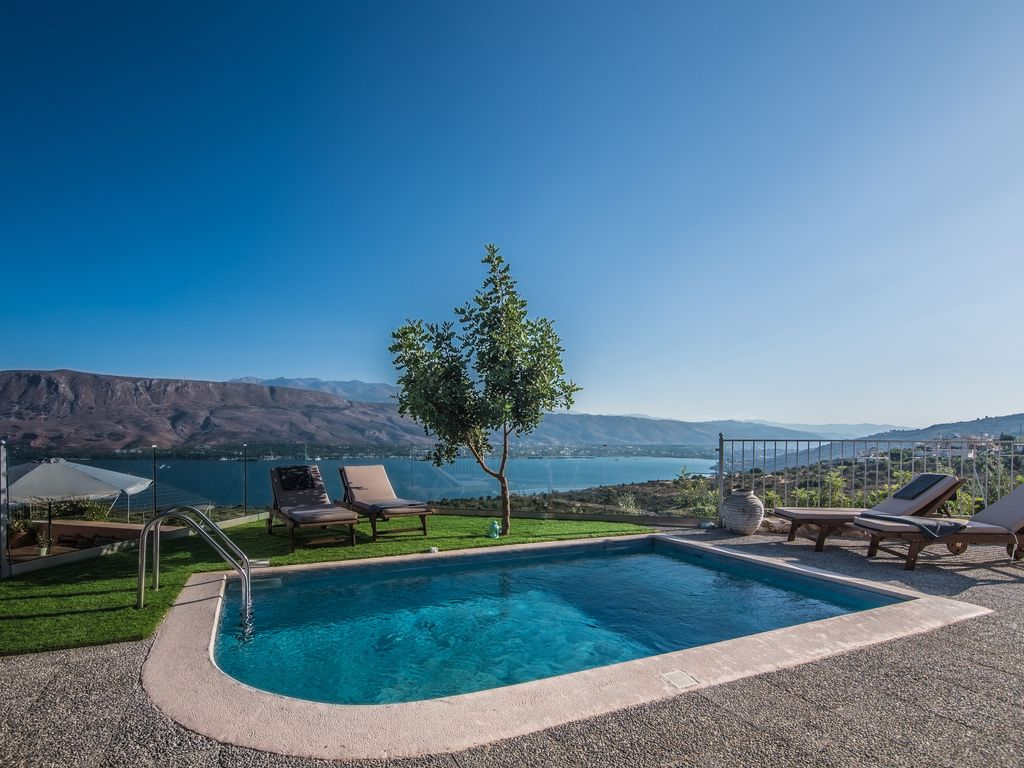 Villa Istros, private swimming pool, amazing Sea Views of the ...