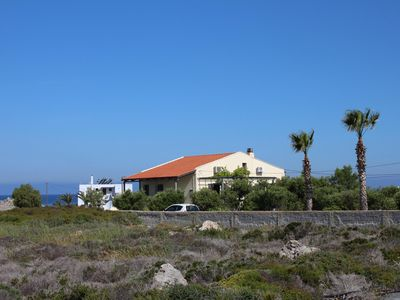 Photo for Dreamlike sea view, wifi - detached holiday house Stavros, Crete