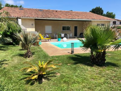 Photo for Enjoy a large comfortable villa in Biscarrosse on the south lake