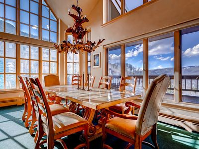 Photo for Scenic Penthouse Condo for 10, Ski In at Pines Lodge