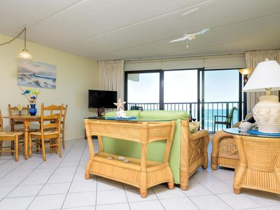 Photo for Beachfront Condo-Great VALUE. Many Extras! Save now