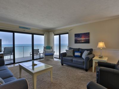 Photo for Direct Ocean front Penthouse Condo 2/2 Shorehom by the Sea