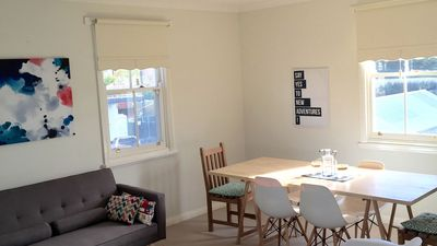 Photo for Bank Apartment - Centre of Port Fairy