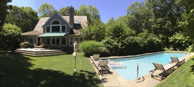 Photo for Beautiful Home in East Hampton; Great Location; Summer Vacation Pricing Aug 1-LD