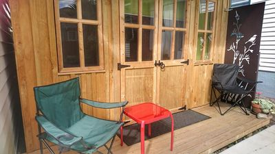 Photo for Auckland city fringe suburb. Private space with separate entrance.