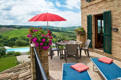 Choose apartment Leopardi and enjoy the view