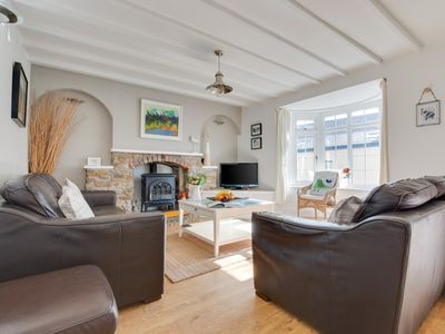 Photo for Woodbine Cottage is in the pretty village of Saundersfoot. A few minutes walk take you to the lovely