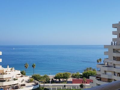 Photo for Apartment in Benalmadena Costa with sea view