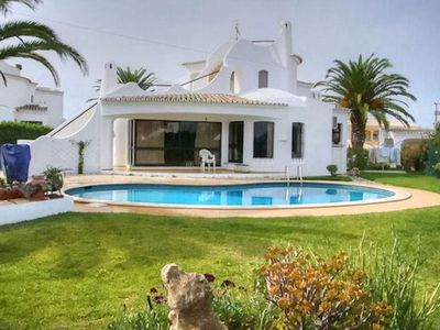 Photo for Lovely, family friendly three bedroom villa, short walk to restaurants & beach