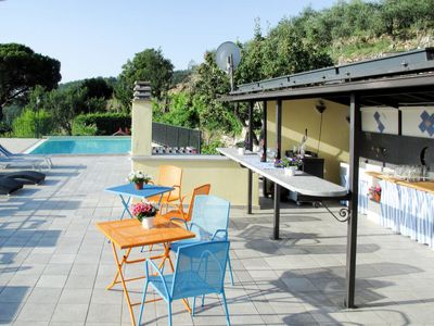 Photo for Apartment Agriturismo San Giuseppe (VLO209) in Valloria - 6 persons, 2 bedrooms