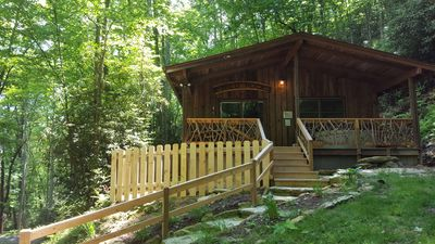 Photo for Wild Rock Cottage - Scenic Getaway - WiFi - Hot Tub - Pets OK - June SALE!