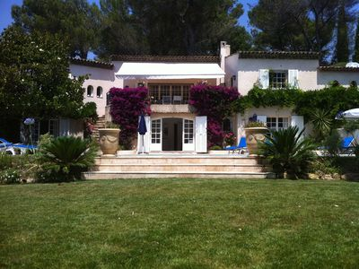 Photo for Amazing location, spacious villa set in magnificent garden with large pool