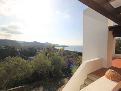 Photo for Villa with sea view 350 metres from the beach 10 sleeps