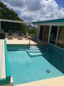 Photo for Romantic getaway w/ private pool & minutes to tropical beaches