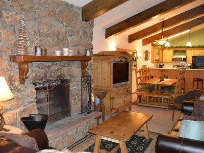 Photo for Rustic 4 Bedroom Penthouse Condo Beaver Creek, Avon, CO