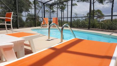 Photo for Bayfront, private pool, hot tub, fenced dog walk, private dock, handicap ramp