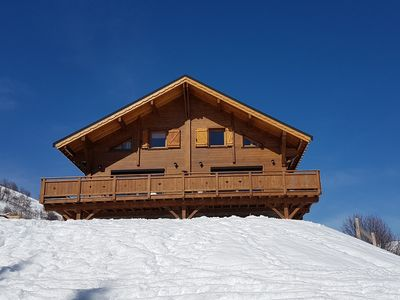 """Photo for Chalet """"Riders"""" 14 beds - at the foot of the slopes - La Toussuire"""