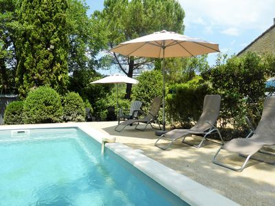 Photo for stone mas and private pool up to 10 people