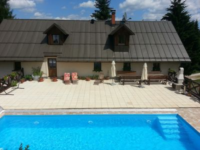 Photo for Chalupa Barborka - entire cottage with swimming pool, for up to 20 guests