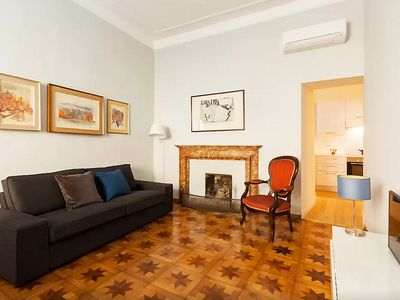 Photo for Exclusive 3 BR Apt in Spanish Steps with WiFi and A/C