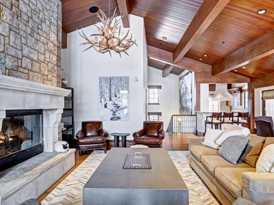 Photo for Luxury & Location: Ski-in/Ski-out 5Br Chalet in Vail Village