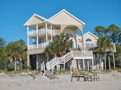 Photo for Beach front property with amazing views