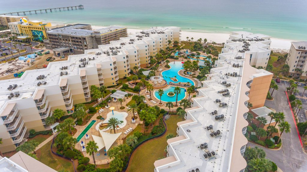 Waterscape A615 Top Floor Great View Beachfront Free Beach Service Share Fort Walton