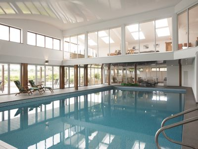 Photo for Converted Barn With Exclusive Use of Indoor Private Swimming Pool