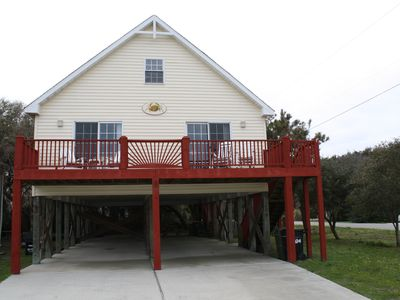 Photo for Charming House Located in the Heart of Kure Beach (Ocean Views)