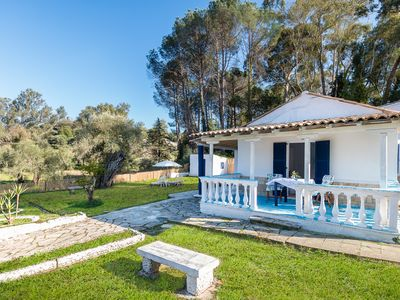 Photo for Blue house, forest, sea, calmness, garden with kid's pool and space for camping