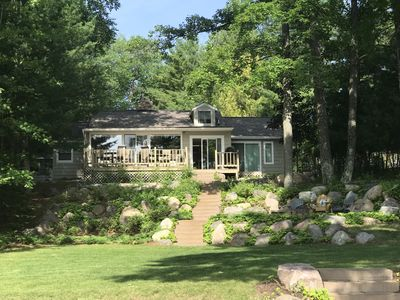 Photo for Private Lake Minocqua cabin, recently remodeled and brand new furnishings!
