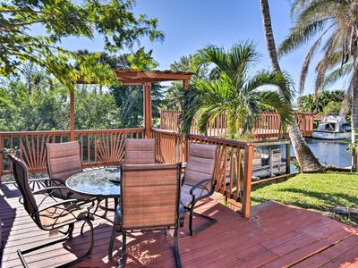 Photo for Waterfront Merritt Island Home w/ Furnished Deck!
