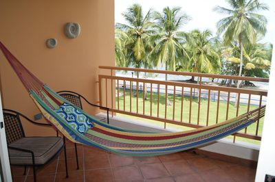Hammock to relax.
