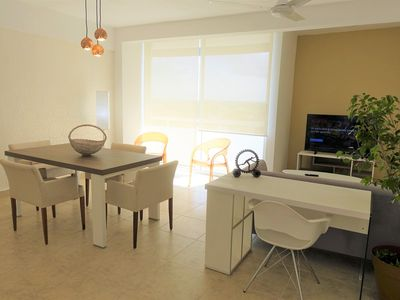 Photo for luxurious and comfortable apartment in the center of cancun for six 1004ES