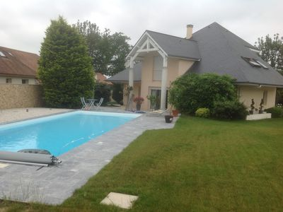 Photo for 3BR Villa Vacation Rental in Saint-Castin, Nouvelle-Aquitaine