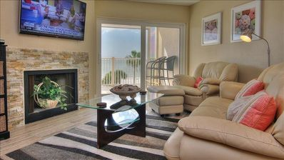 Photo for Stunning Oceanfront Condo with Designer Touches!